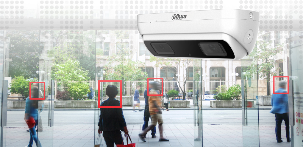 Dahua 3MP Dual-lens People Counting